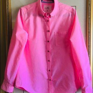 🌸H&M Neon Pink Shirt